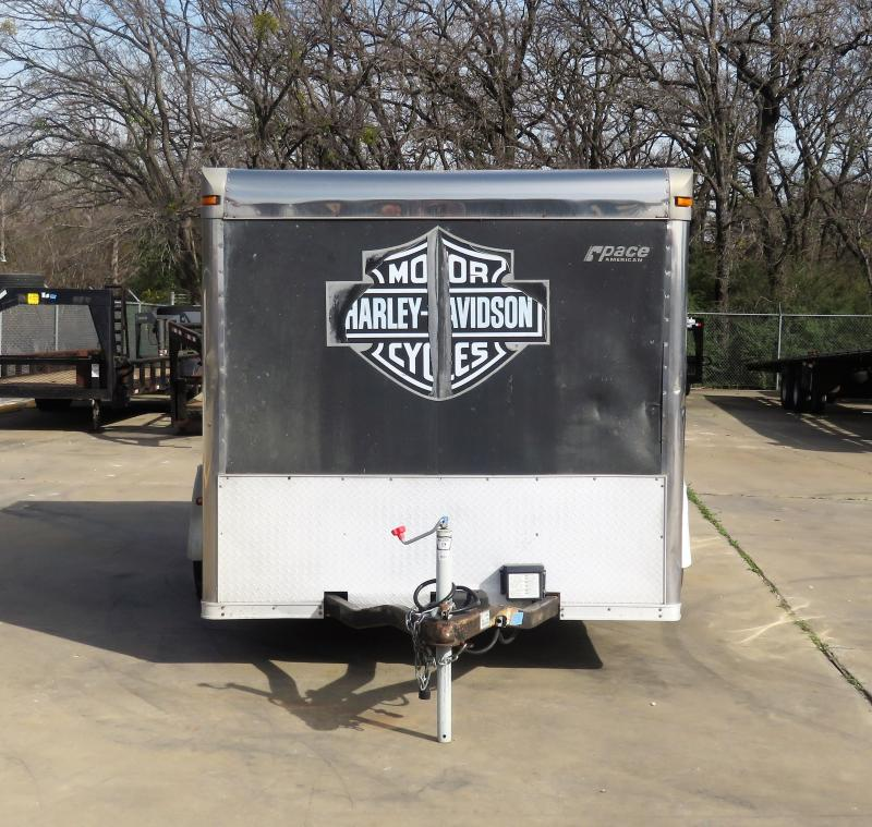 2006 Pace American 7x 12 Enclosed Cargo Trailer
