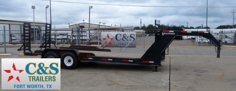 2008 Diamond C Trailers 83 x 20 Equipment Trailer
