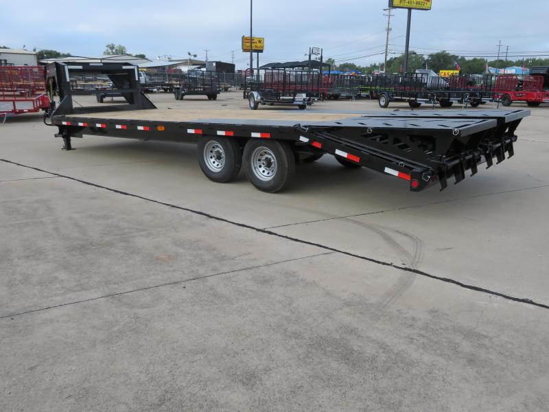 2018 Iron Bull 102 x 25 Flatbed Trailer
