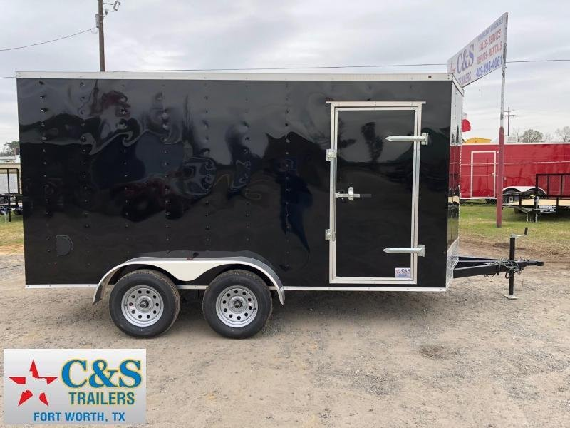 2018 Salvation Trailers 7x14 BPTA Enclosed Cargo Trailer