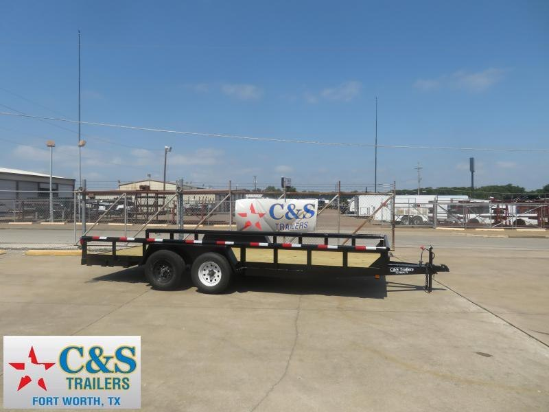 Rental 43 - 2018 C&S 77 x 16 Utility Trailer
