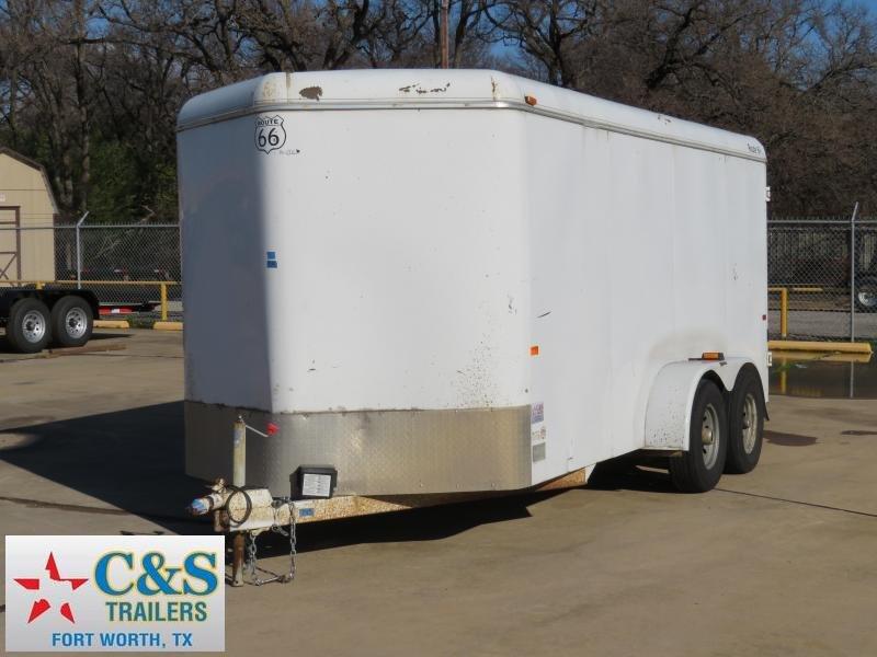 2008 CM 7 x 16 Enclosed Cargo Trailer