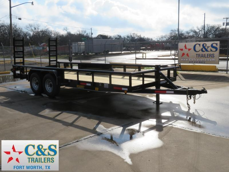 2019 Kearney 82 x 20 Equipment Trailer