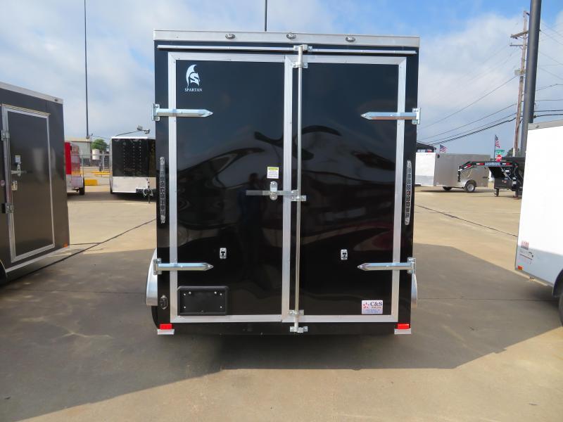 2018 Spartan 6X12 Enclosed Cargo Trailer
