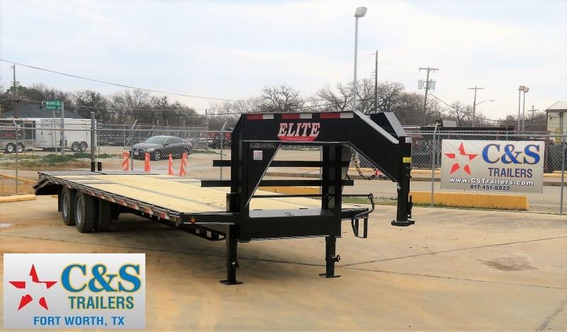 2019 Elite Trailers 102 x 32 Equipment Trailer