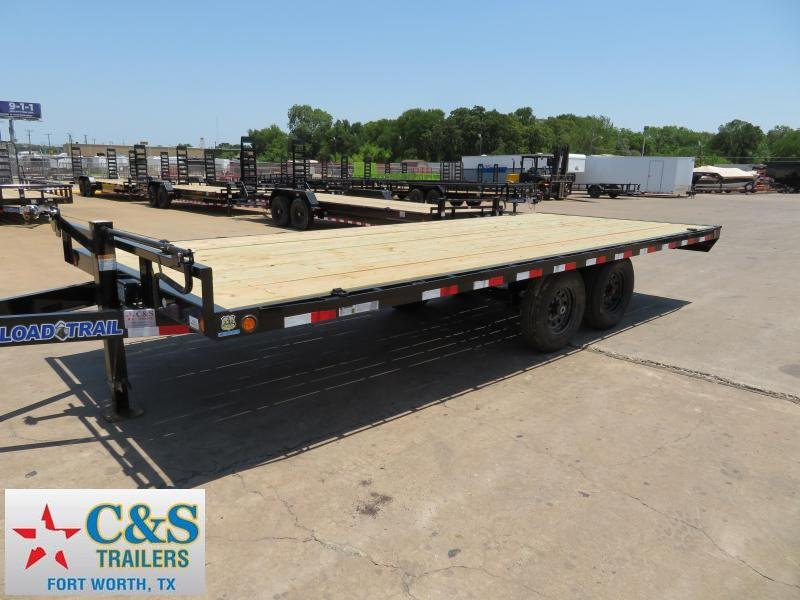 2018 Load Trail 102X20 Flatbed Trailer
