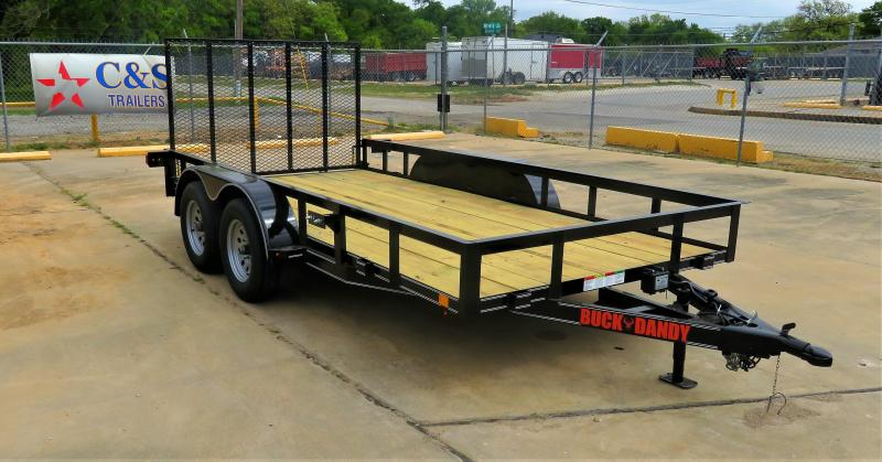 "2019 Buck Dandy 77"" x 14' Utility Trailer in Ashburn, VA"