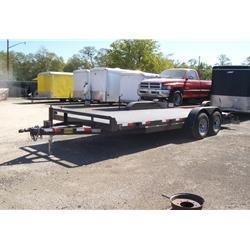 "Rental 54 - C & S 18' x 82"" SFCH Car Hauler"