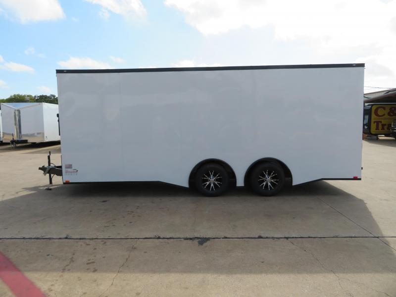 2019 Spartan 8.5 x 20 Enclosed Cargo Trailer