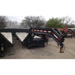 Rental 29 - C & S 23'+5' Equipment Trailer