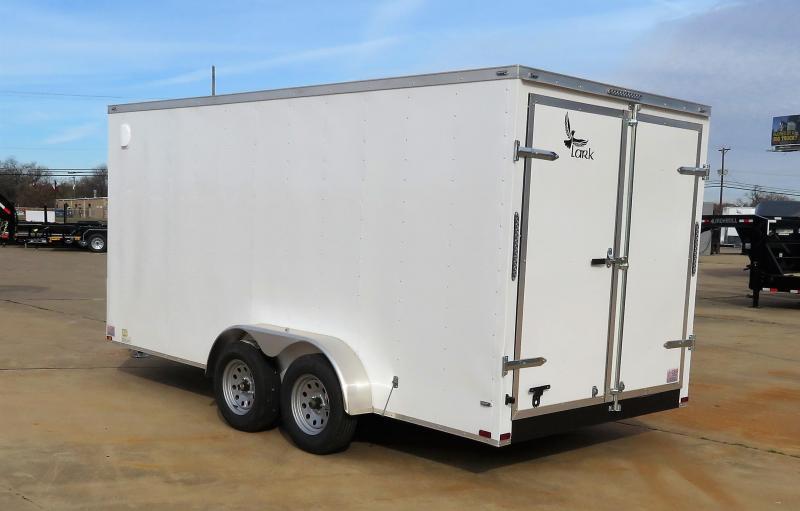 2019 Lark Trailers 7 x 16 TA Enclosed Cargo Trailer