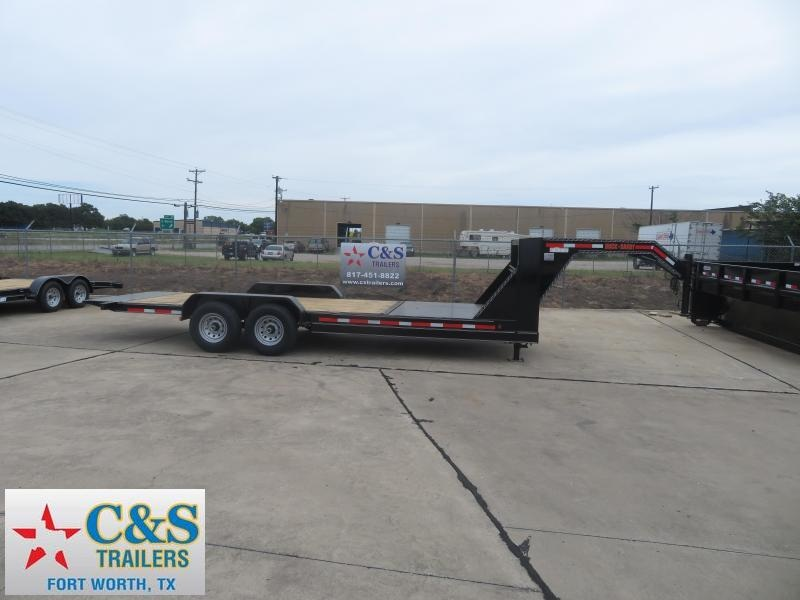 2019 Delco Trailers 83 x 20 Equipment Trailer