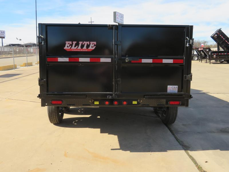 2019 Elite 83 x 16 Dump Trailer