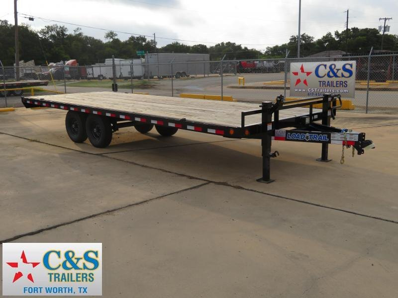 2018 Load Max 102 x 24 Flatbed Trailer