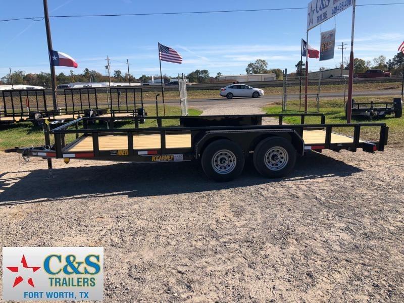 2018 Kearney 83x18 BPTA Equipment Trailer in Ashburn, VA