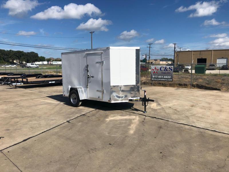 2020 Lark 6 X 10 Enclosed Cargo Trailer