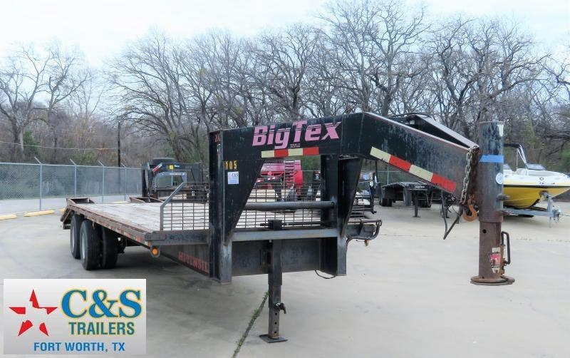 2000 Big Tex Trailers 102 x 20 Equipment Trailer