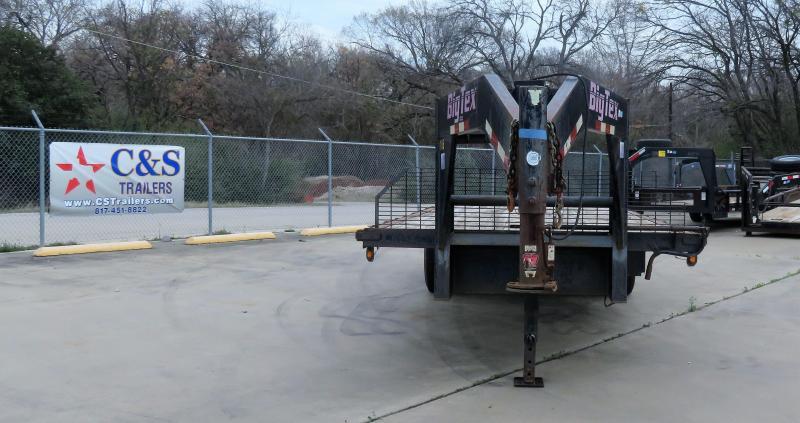 2000 Big Tex Trailers 102 x 20 Equipment Trailer