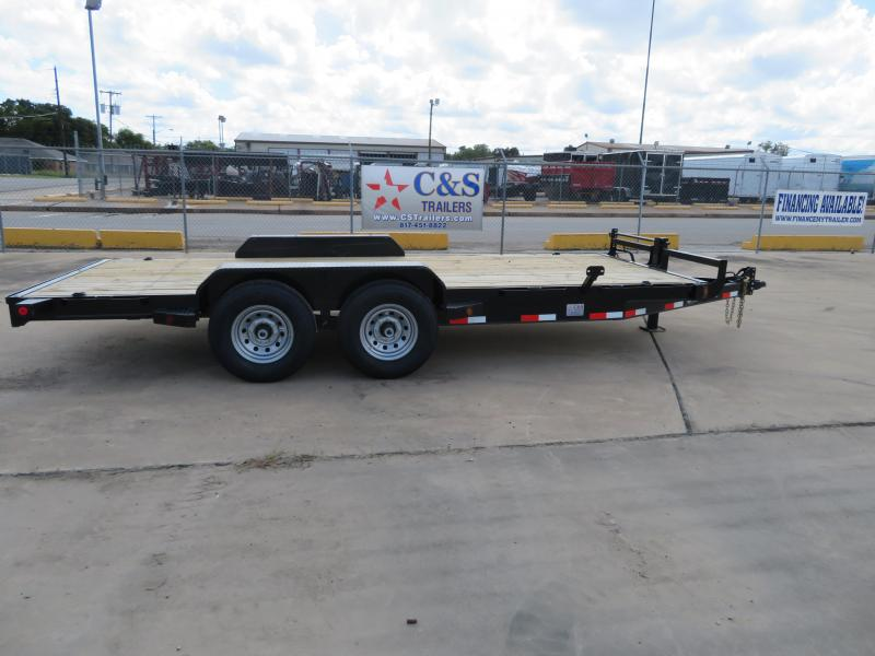 2018 Iron Bull 83 x 18 Equipment Trailer