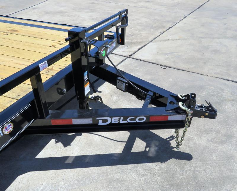 2019 Delco Trailers 102 x 20 Equipment Trailer