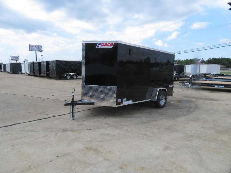 2019 Pace American 6 x 12 Enclosed Cargo Trailer