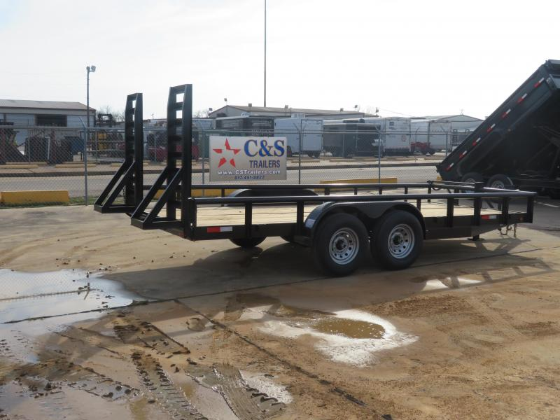 2019 Salvation Trailers 83 x 18 Utility Trailer