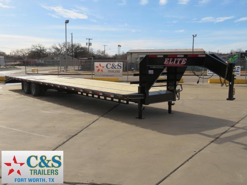 2019 Elite 102 x 40 Flatbed Trailer in Ashburn, VA