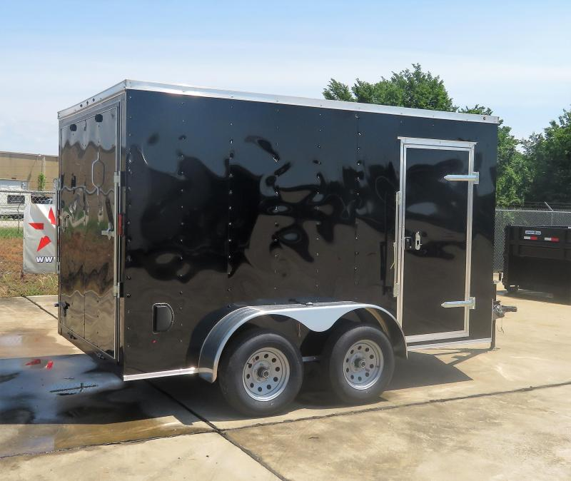 2019 Salvation Trailers 7 x 12 Enclosed Cargo Trailer