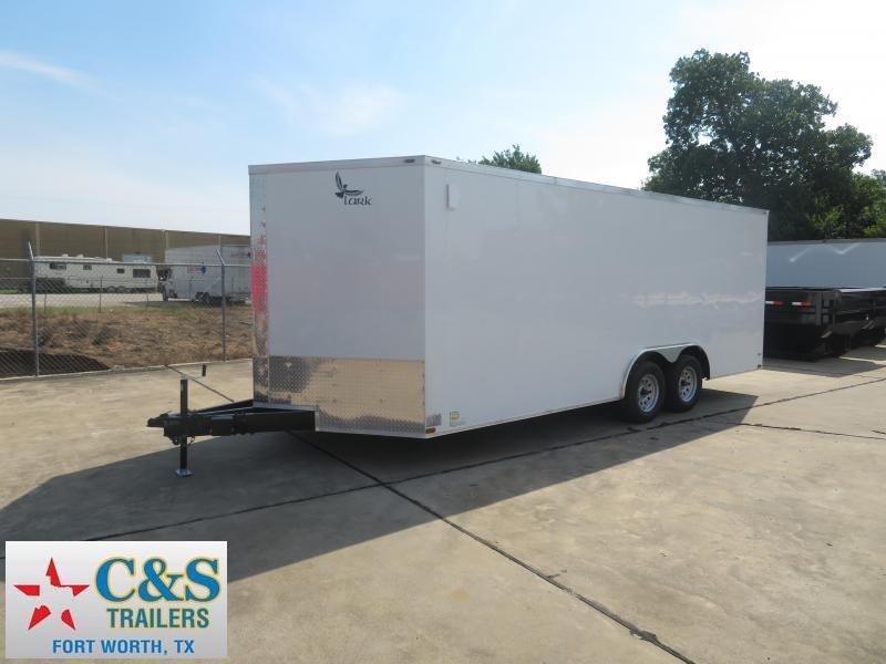 2019 Lark 8.5 X 20 Enclosed Cargo Trailer