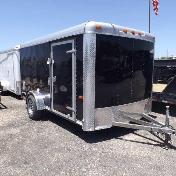 Rental 71 - 7'X12' Motorcycle Trailer