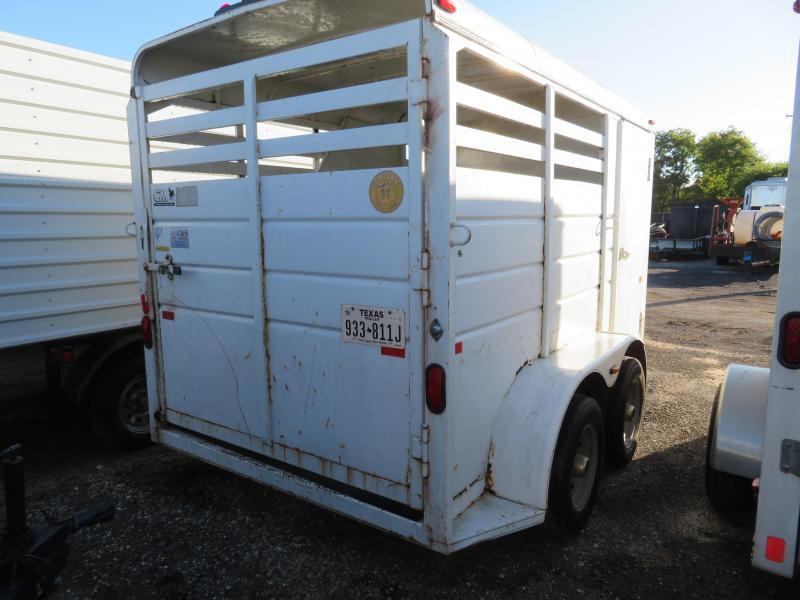 Rental 63 - 1984 W-W Trailer 12 Horse Trailer Livestock Trailer