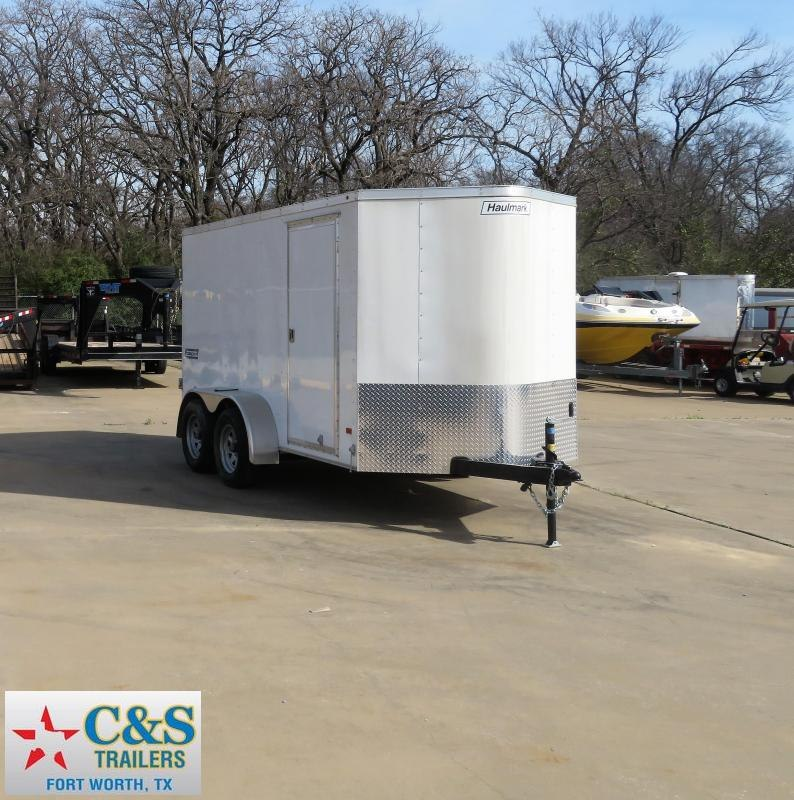 2016 Haulmark 6 x 12 Enclosed Cargo Trailer