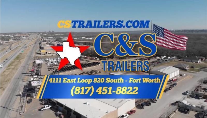"""Rental 2 - C & S 77"""" x 10' Utility Trailer"""