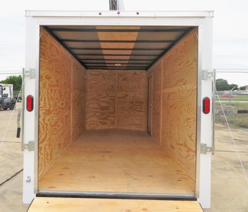 2019 Salvation 7' x 16' Enclosed Cargo Trailer