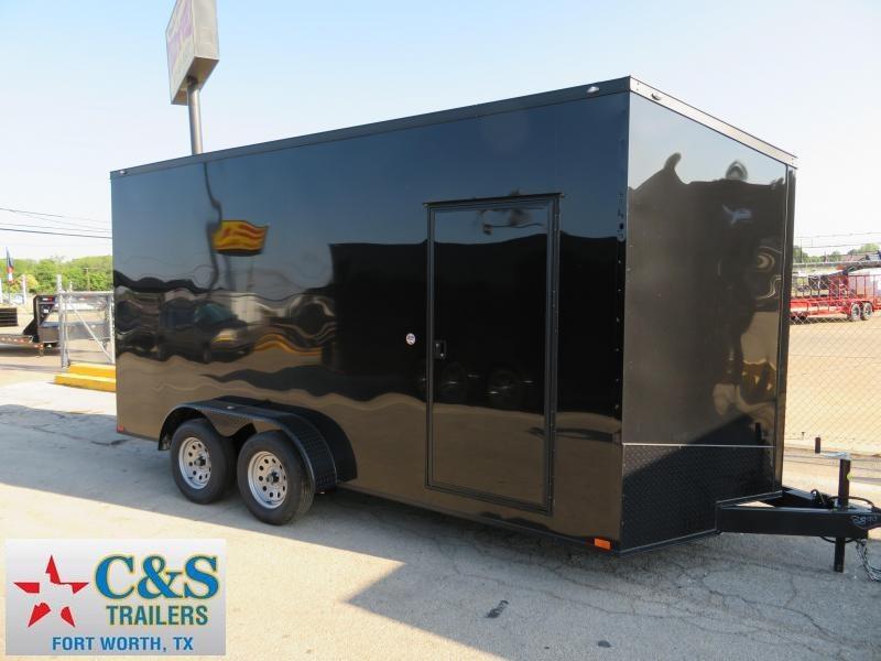 2018 Spartan 7x16 Enclosed Cargo Trailer