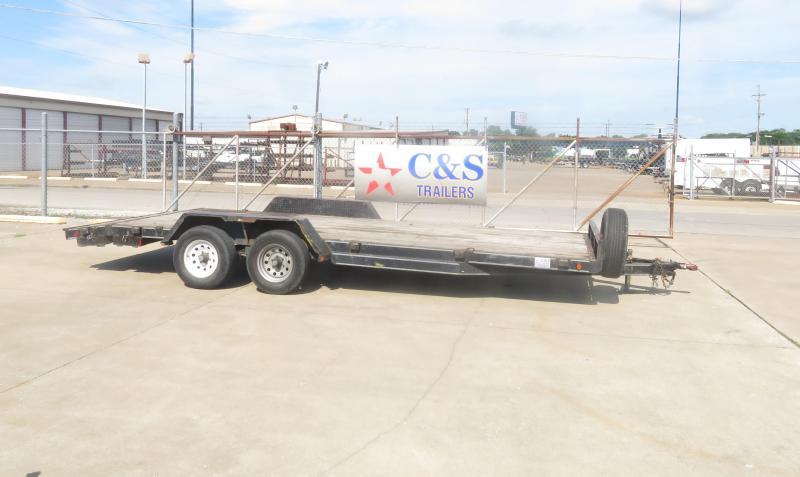 "Rental 7 - C & S  81"" x 18' Car Hauler in Ashburn, VA"