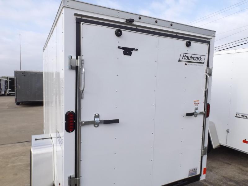 2018 Haulmark 6x10 Enclosed Cargo Trailer