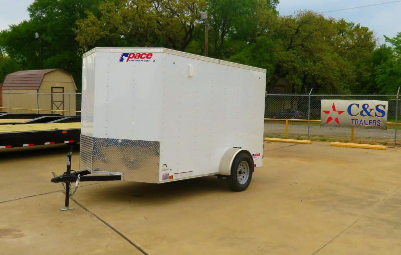 2019 Pace American 6 x 10 Enclosed Cargo Trailer