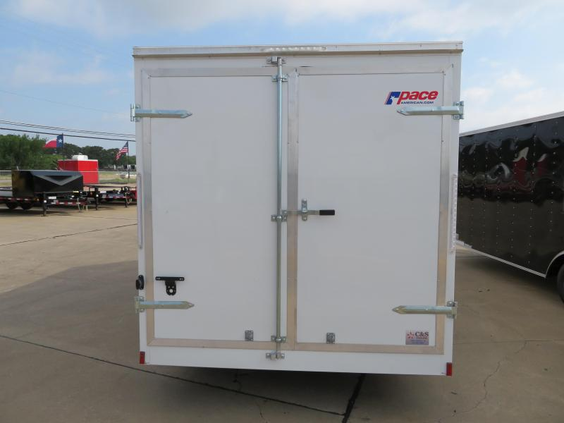 2019 Pace American 7x16 Enclosed Cargo Trailer