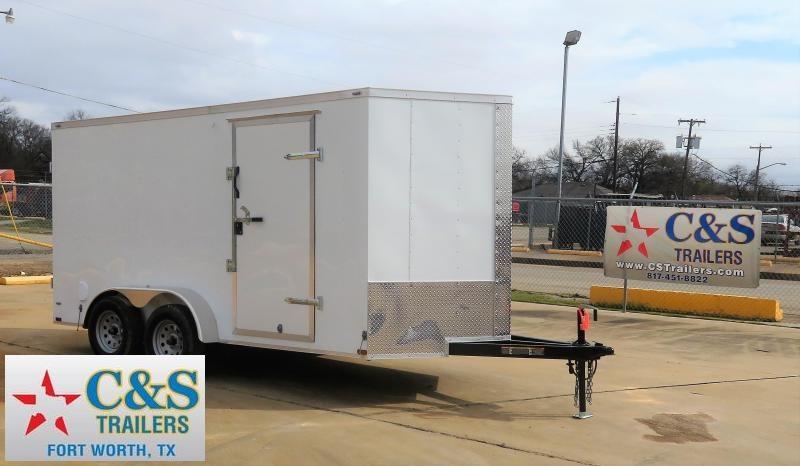 2019 Lark 7' x 14' Enclosed Cargo Trailer