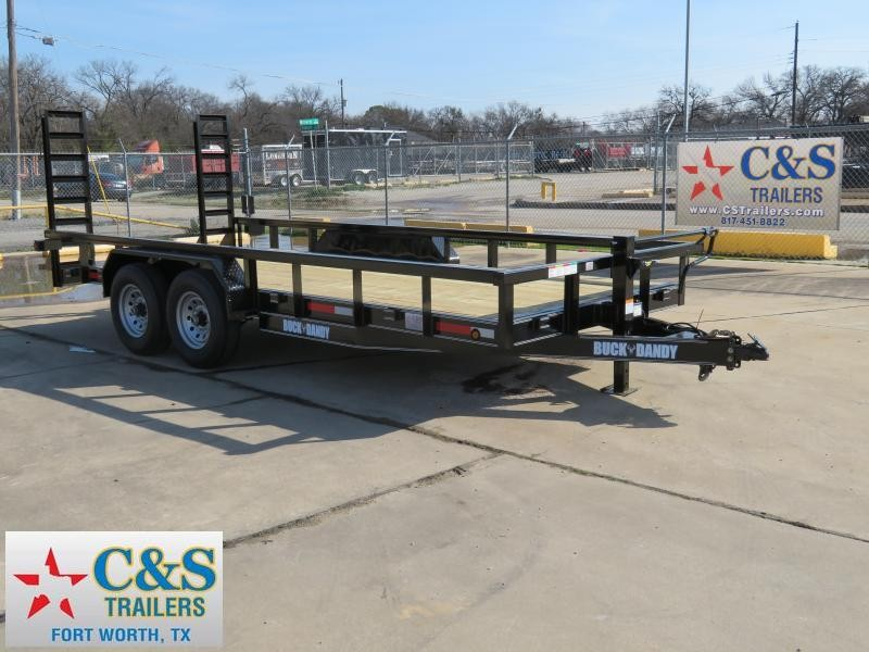 2019 Buck Dandy 83 X 18 Equipment Trailer in Ashburn, VA