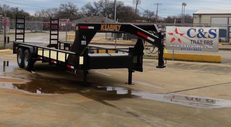 "2019 Kearney 83"" x 20' Pipetop Utility Gooseneck Trailer"