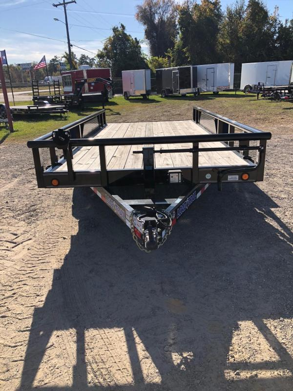 2018 Load Trail 83x16 BPTA Equipment Trailer