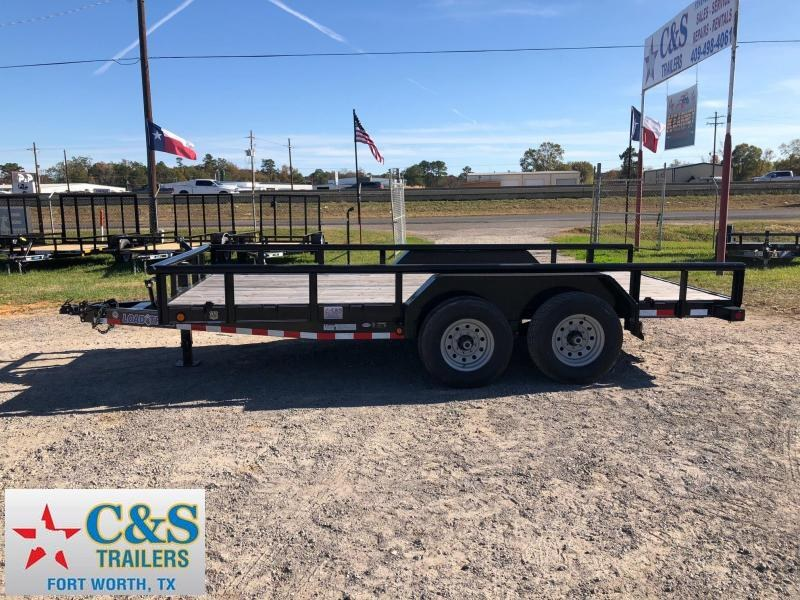 2018 Load Trail 83x16 BPTA Equipment Trailer