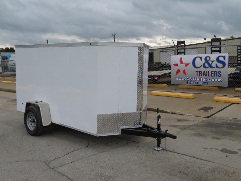 2019 Salvation 5 x 10 Enclosed Cargo Trailer