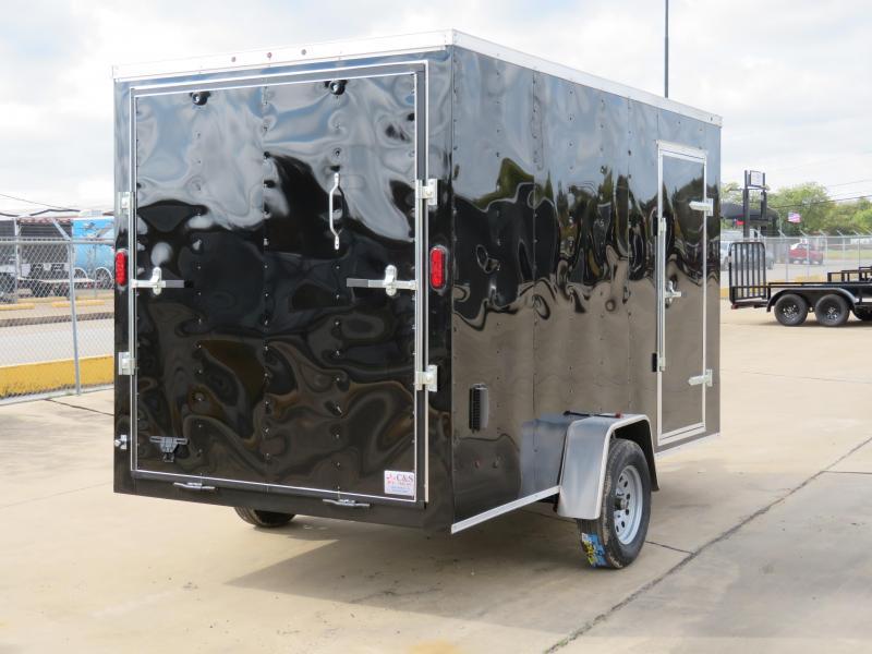 2019 Salvation Trailers 7 x 12 Enclosed Cargo Trailer