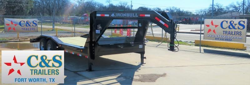 2019 Iron Bull 83 X 20 Equipment Trailer