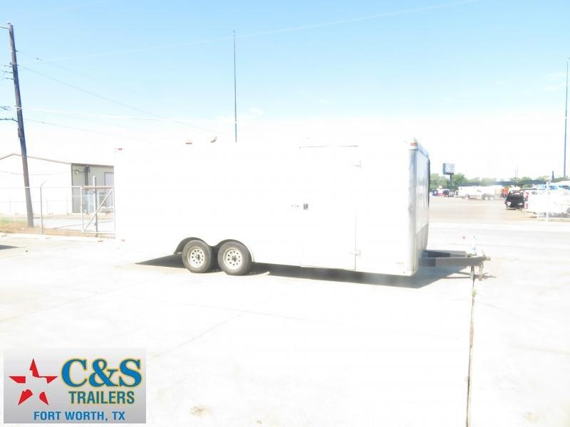 2007 Pace American 8.5 x 24 Enclosed Cargo Trailer