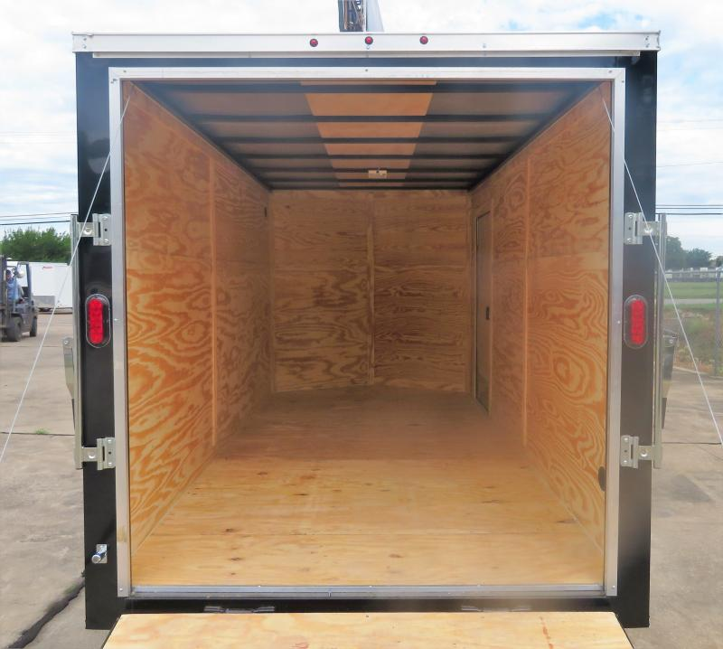 2019 Salvation Trailers 7 x 16 Enclosed Cargo Trailer