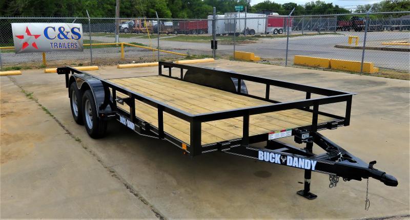 "2019 Buck Dandy 77"" x 16' Utility Trailer"